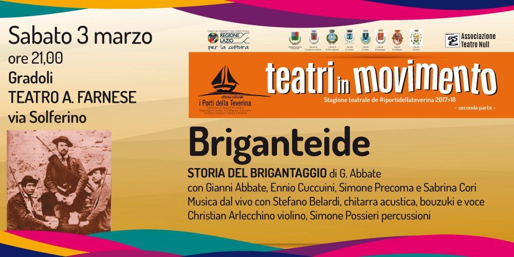 Briganteide  – Storia del Brigantaggio in Maremma