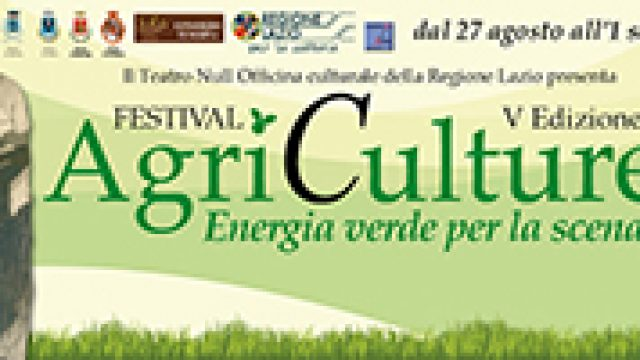 AgriCulture un Festival tra cultura e natura