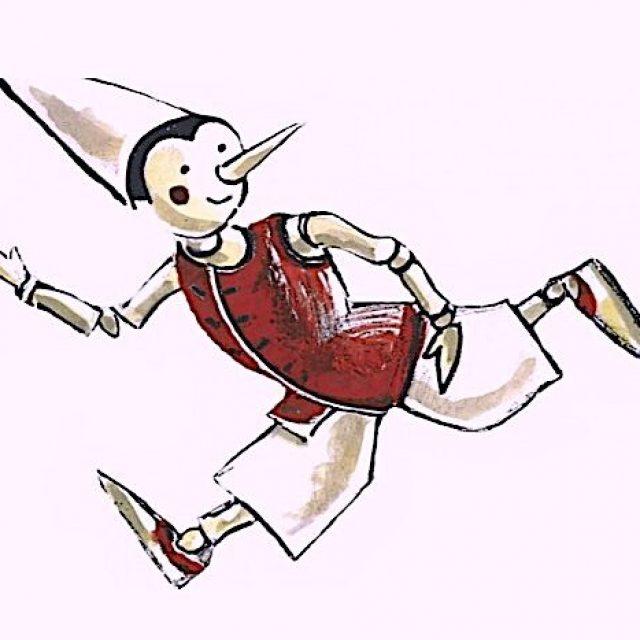 Il Pinocchio del laboratorio del Teatro Null a Farnese